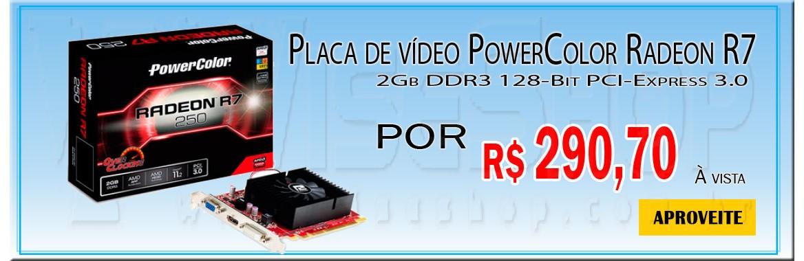 Placa de vídeo PowerColor Radeon
