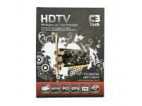Placa de captura C3 Tech TV-P200 HDTV/SDTV TV Digital